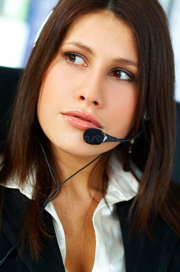 Download центр телефонного обслуживания агента Стоковое Изображение - изображение: 650139