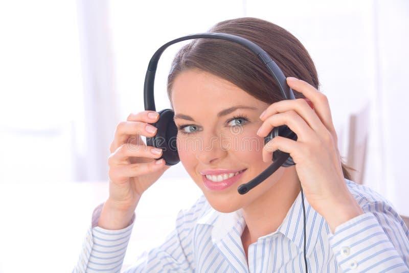 центр телефонного обслуживания стоковая фотография