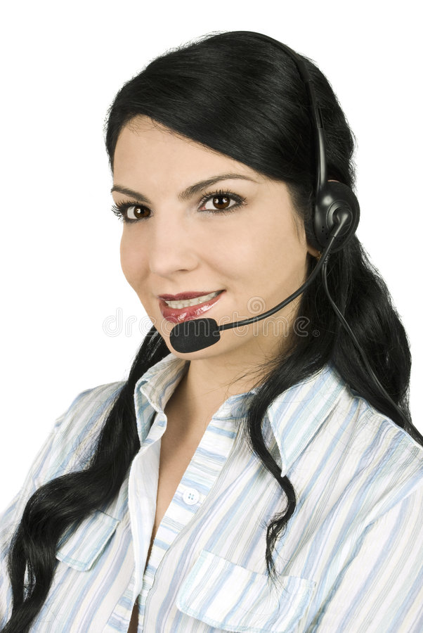 центр телефонного обслуживания стоковое фото rf