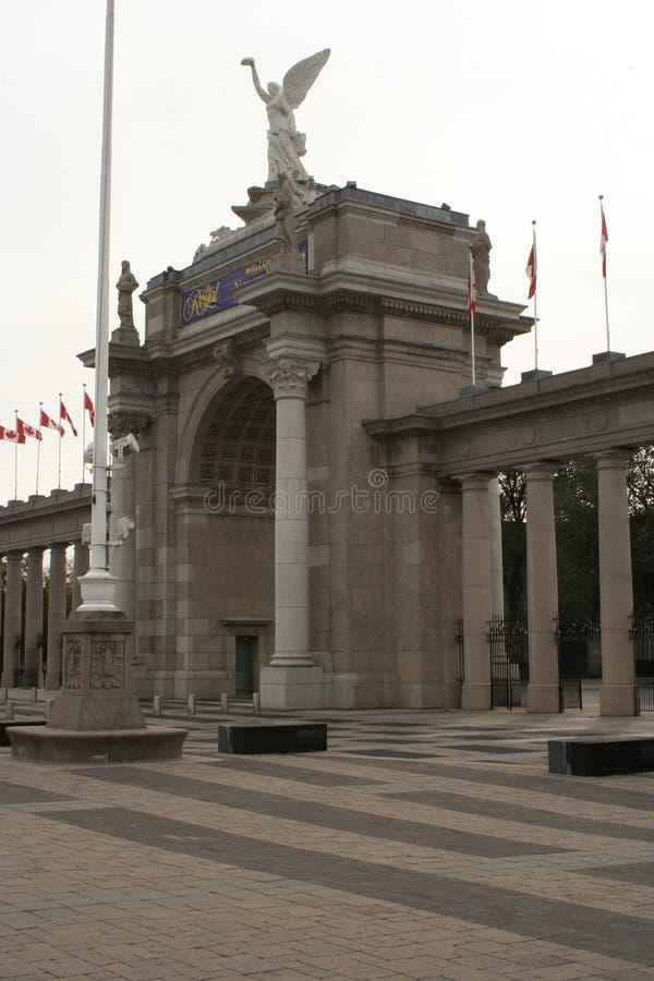 Центр Торонто Ont Beanfield Канада стоковые изображения