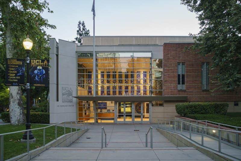 Центр учеников UCLA Джеймс западный стоковое изображение rf