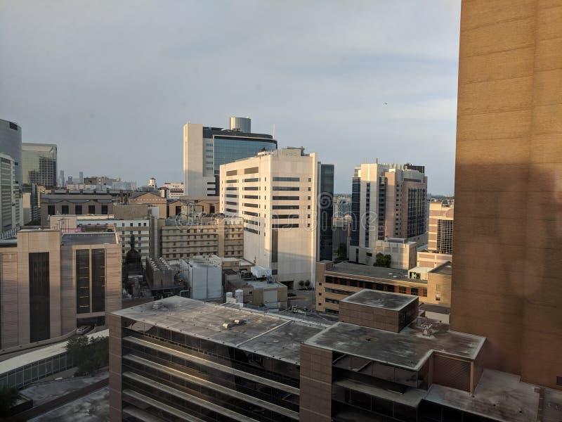 Центр Хьюстона медицинский стоковые фотографии rf