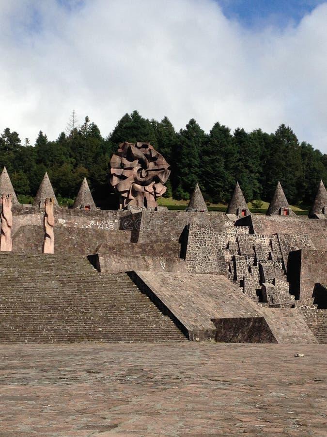 Центр церемонии Otomi стоковое фото