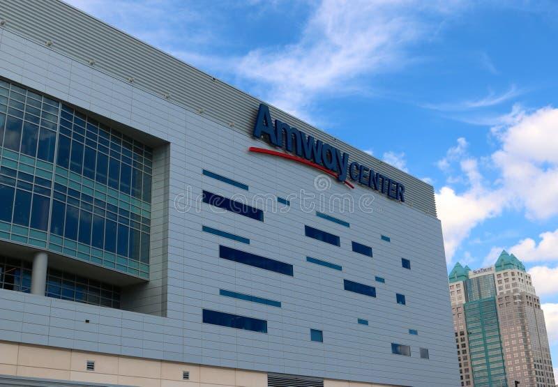 Центр Amway, Орландо, Флорида стоковые изображения