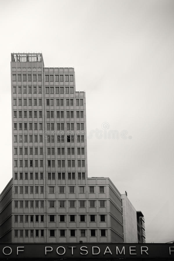 Центр Beisheim на квадрате Потсдама стоковые изображения