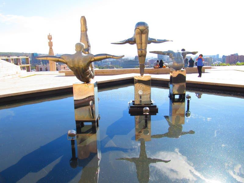 Центр Cafesjian для искусств стоковое фото rf