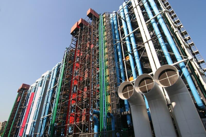 центр pompidou стоковые изображения