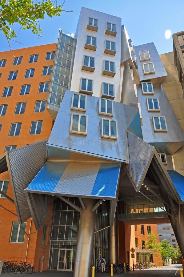 Центр Stata MIT, Бостона, США стоковое фото