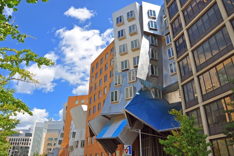 Центр Stata MIT, Бостона, США стоковые изображения