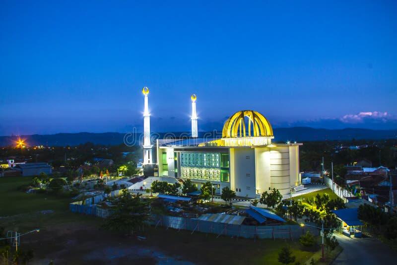 Центр Universitas Ahmad Dahlan Masjid исламский стоковые изображения