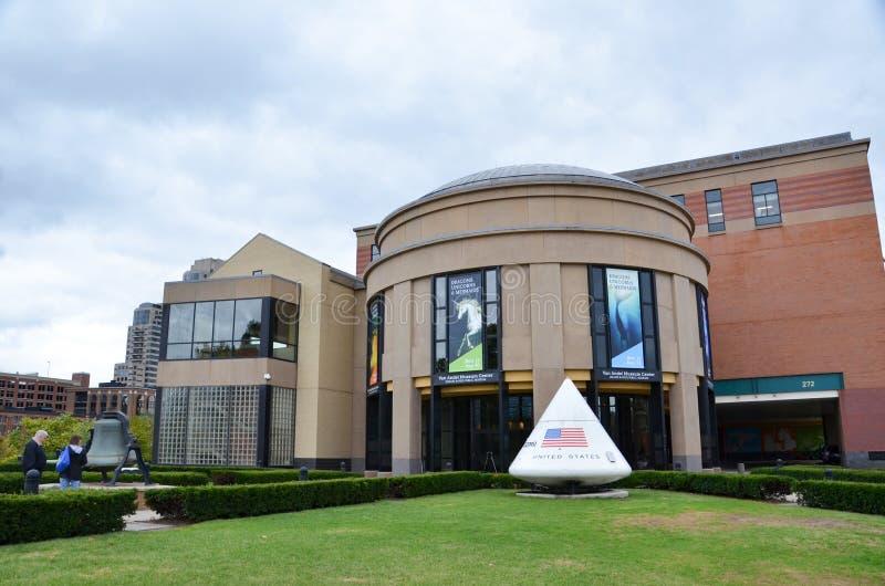 Центр Van Andel Музея в Гранд-Рапидсе стоковое фото