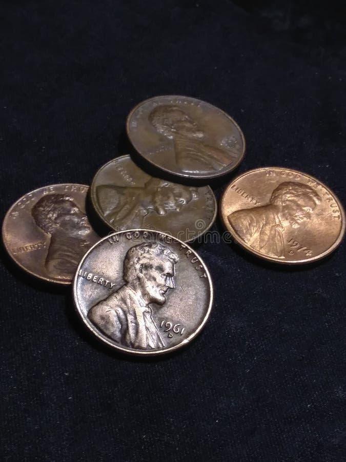 центы стоковое изображение