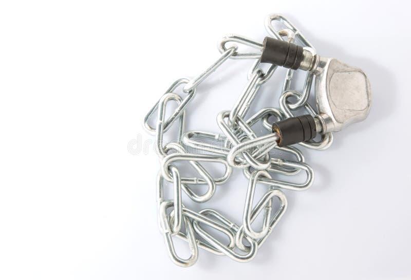 Download Цепи и замок стоковое фото. изображение насчитывающей сталь - 37926254