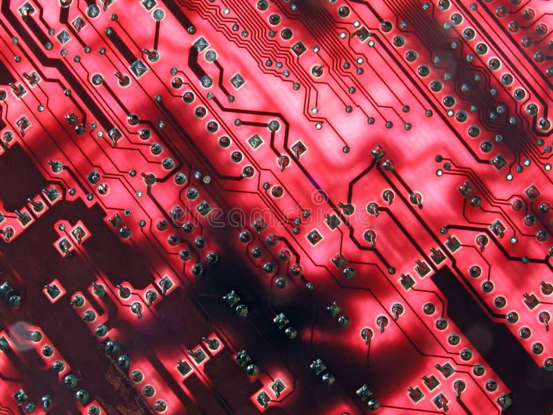 Download цепи накаляя красн стоковое фото. изображение насчитывающей припой - 78270