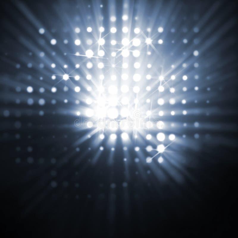 цепи световых маяков бесплатная иллюстрация
