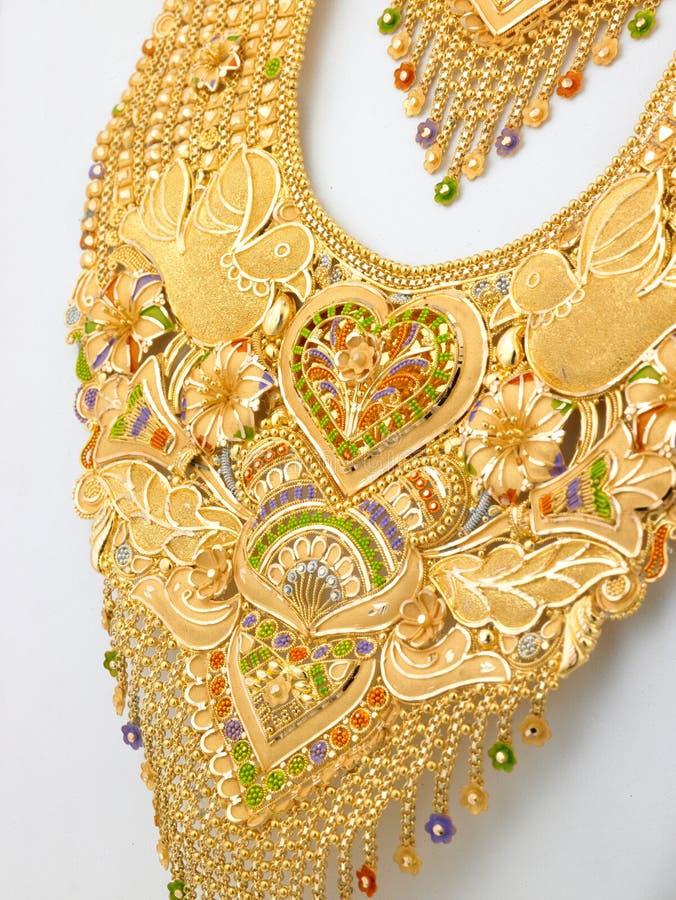 цепное золото длиной стоковые изображения rf