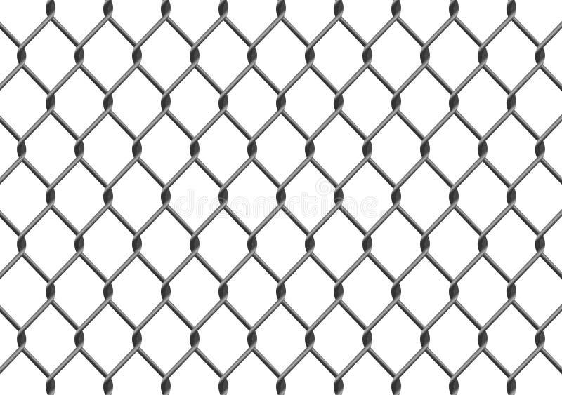 цепное соединение загородки иллюстрация штока