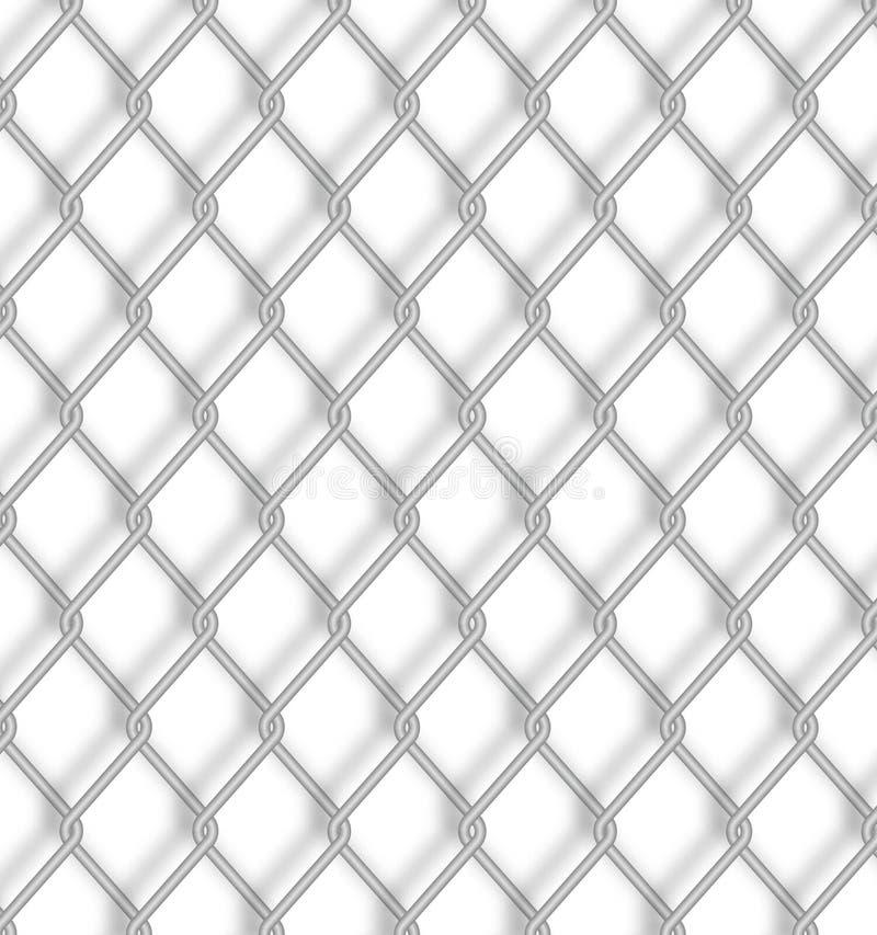 цепной вектор иллюстрации загородки иллюстрация штока