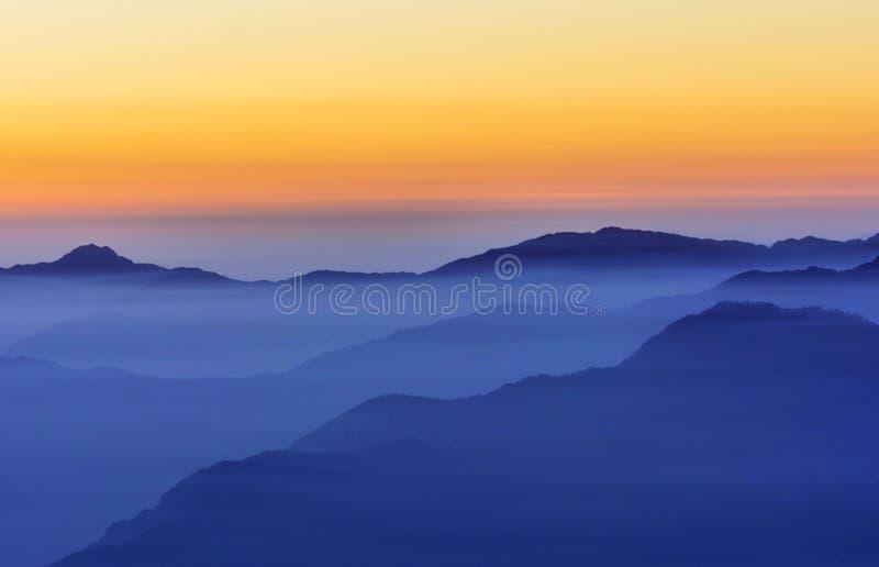 Цепь горы стоковые фото
