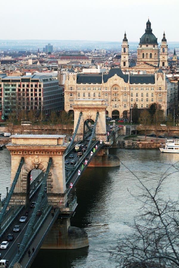 цепь моста стоковые фотографии rf