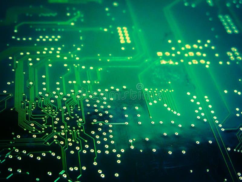 цепь доски электронная стоковое фото rf