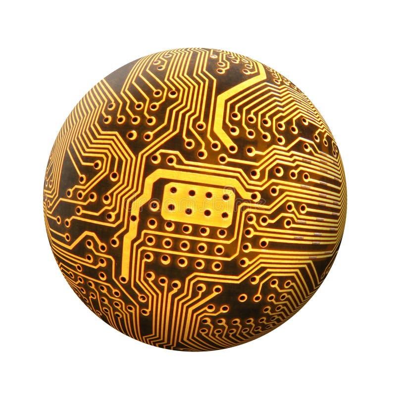 Download цепь сферически стоковое фото. изображение насчитывающей глобус - 90858