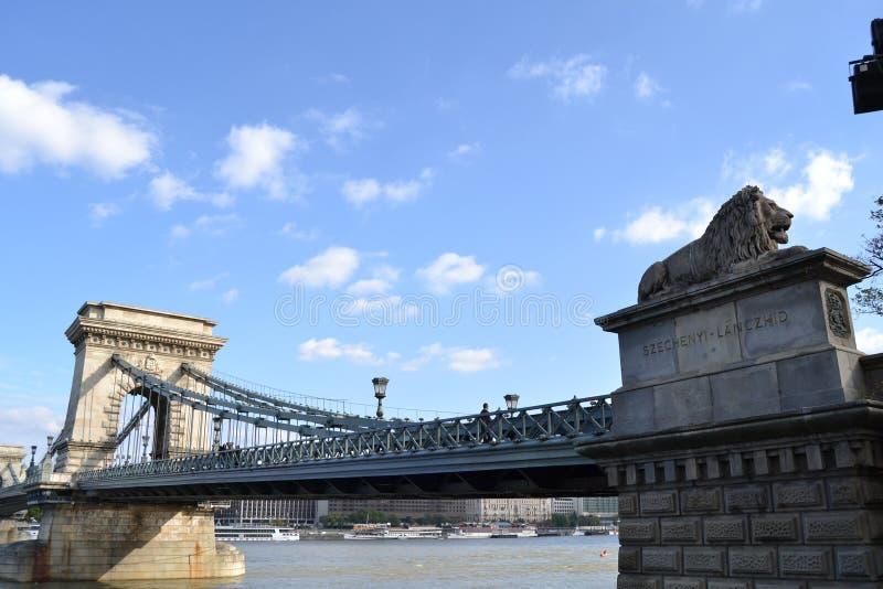 Download цепь budapest моста стоковое фото. изображение насчитывающей brice - 40580870