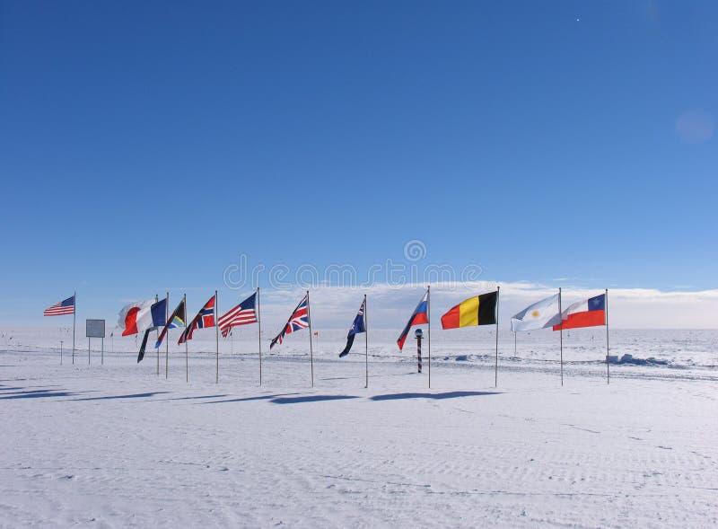 церемониальный полюс южный стоковое изображение