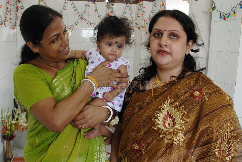 церемония есть первый рис Индии стоковые изображения
