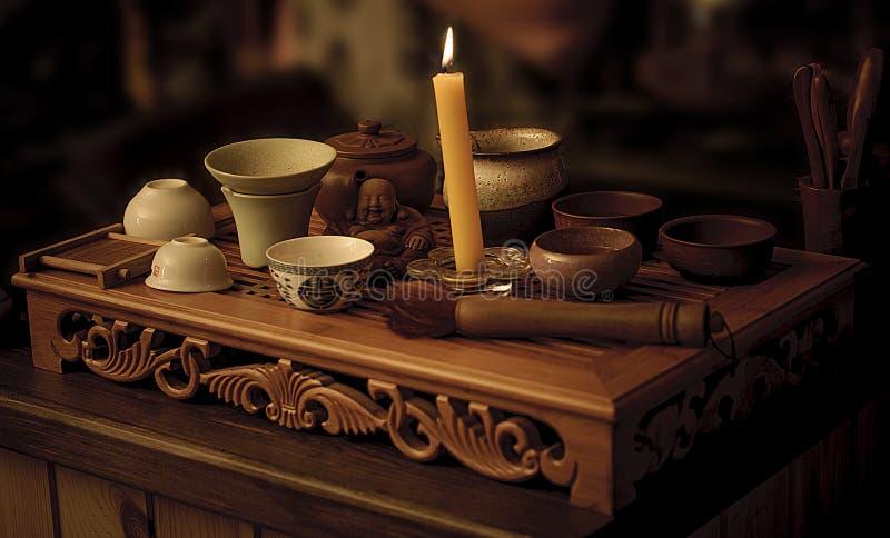 Церемония чая стоковая фотография rf