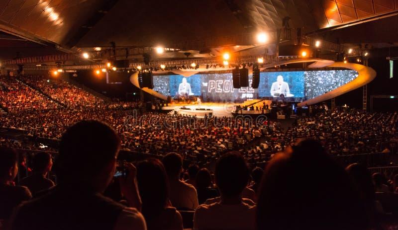Церковная служба стоковое фото rf