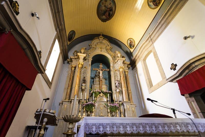 Церковь †Trancoso «St Peter стоковая фотография rf
