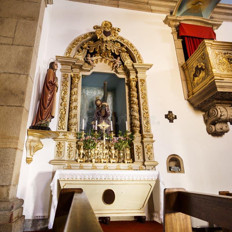 Церковь †Trancoso «St Peter стоковые фото