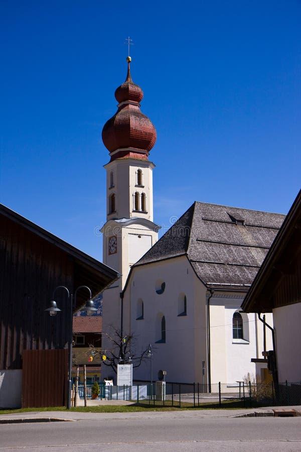 Церковь австрийца типичная стоковое изображение rf