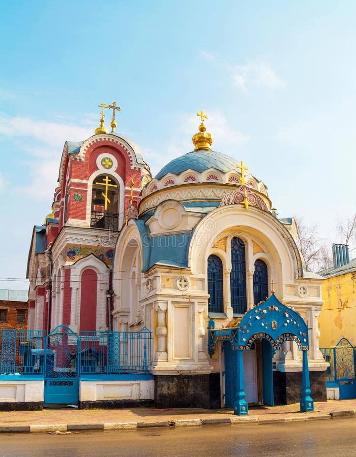 Церковь Александра Nevsky и Mikhail Tver в Yelets стоковое фото rf