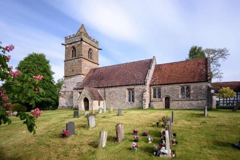 церковь Англия старая стоковое фото rf
