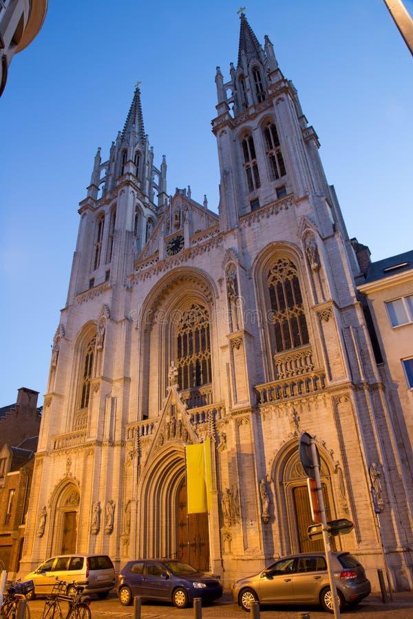 Download Церковь Антверпена - St. George (Joriskerk) Стоковое Фото - изображение насчитывающей известно, вероисповедание: 33727698
