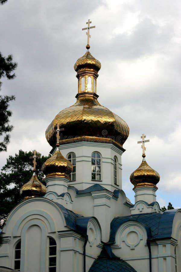 Церковь архиепископа St Luke Симферополя и крымское, исповедник стоковая фотография rf