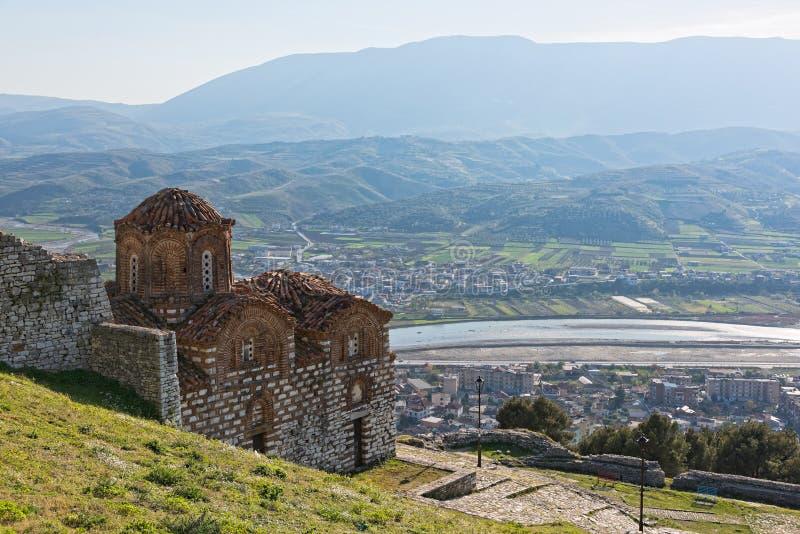 церковь Албании стоковое фото