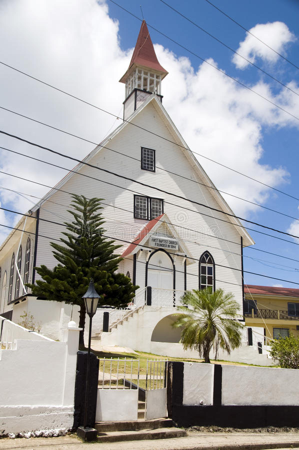 церковь баптиста Колумбия andres первый san стоковая фотография rf