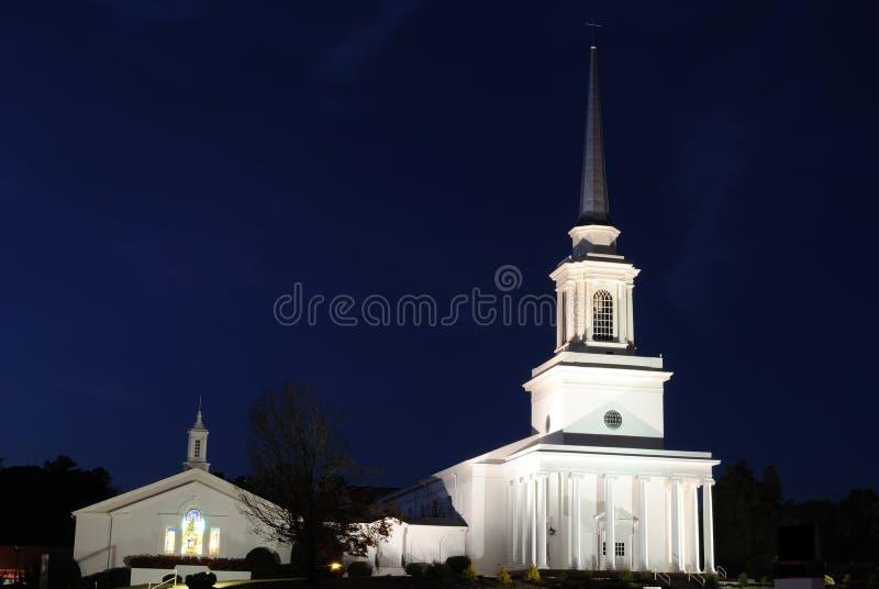 церковь баптиста стоковое изображение rf