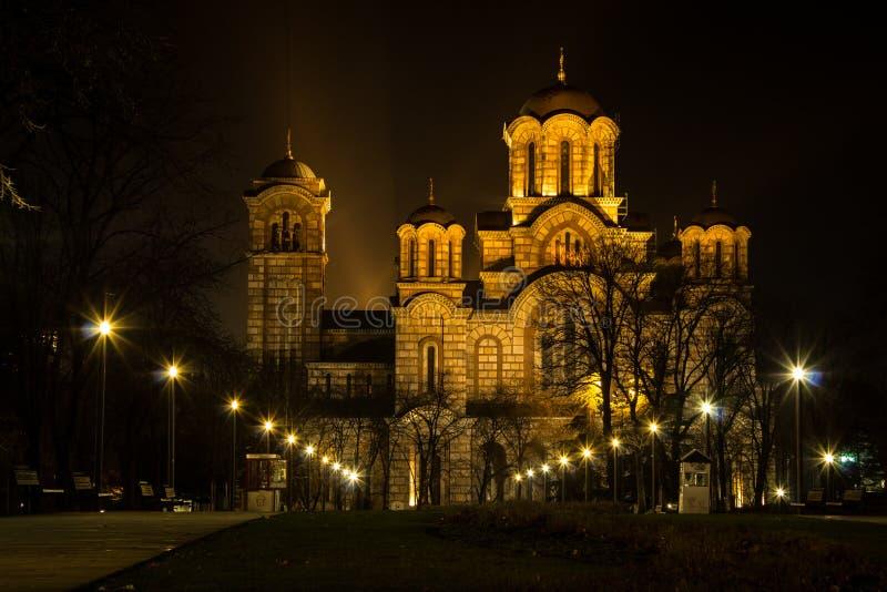 Церковь Белград ` s St Mark стоковая фотография