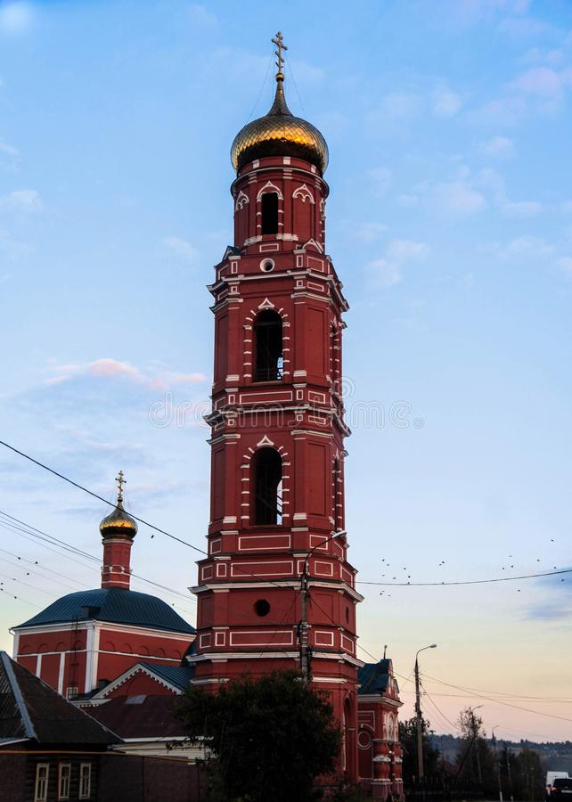 Церковь большего мученика Джордж победоносное стоковое изображение