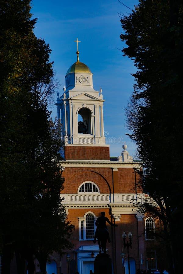 Церковь Бостона стоковое фото rf