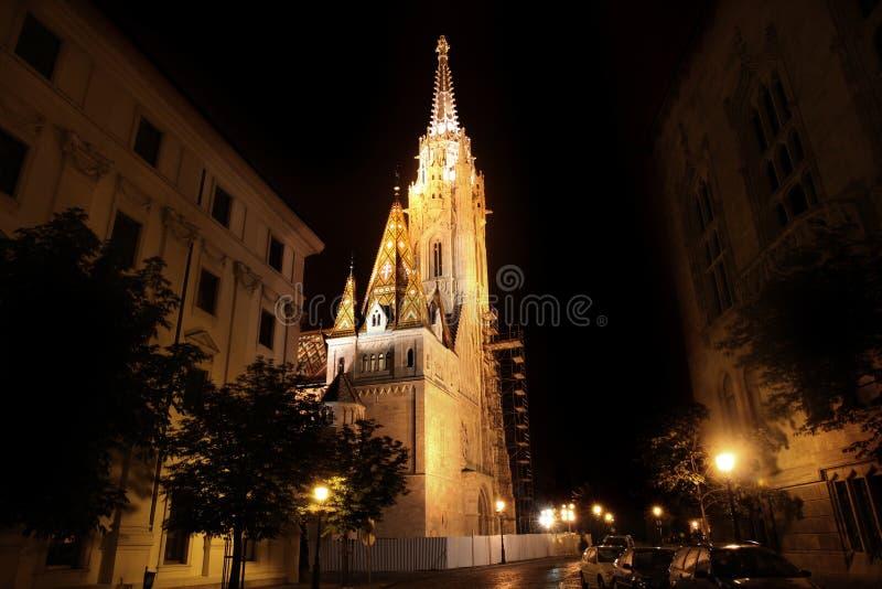 церковь Венгрия matthias budapest стоковое изображение