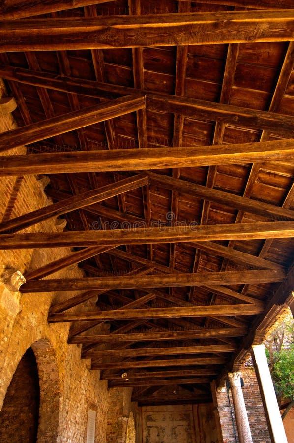 Церковь Венеции Италии Torcello Санты Fosca стоковые изображения