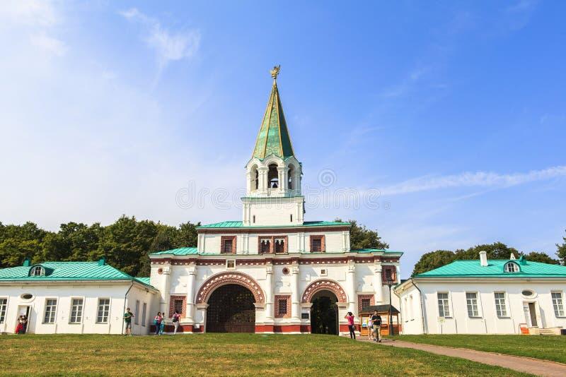 Церковь восхождения, Kolomenskoye, Rusia стоковое изображение