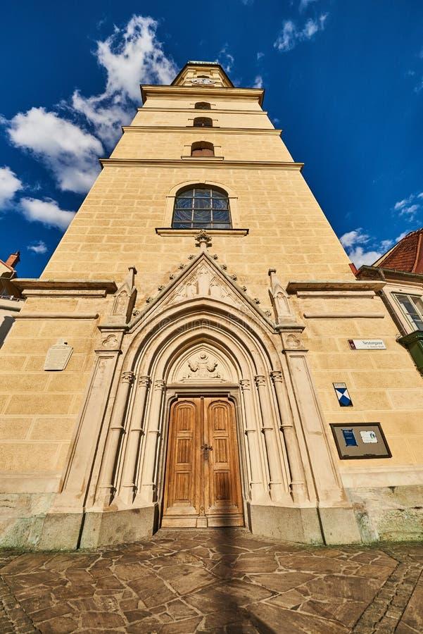 Церковь в городе Граца стоковые фотографии rf