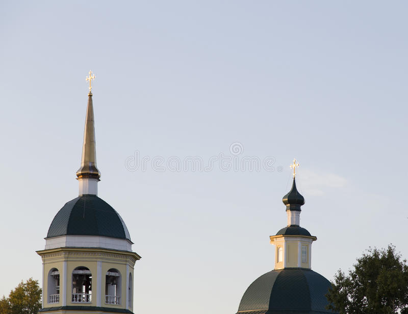 Церковь в Иркутске, Российской Федерации стоковое фото