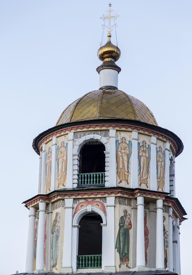 Церковь в Иркутске, Российской Федерации стоковая фотография